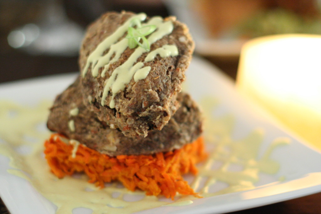 Raw Food Sweet Potato Gratin