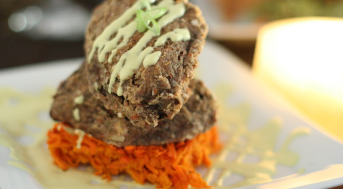 Raw Food Sweet Potato Gratin